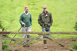 PRINCE WILLIAM WORKS ON HOME FARM, ON THE HIGHGROVE ESTATE IN GLOUCESTERSHIRE. SHOW AROUND BY THE PRINCE OF WALES.<br />