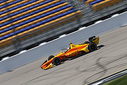 July 7, 2018 - Newton, Iowa, United States of America - ZACH VEACH (26) of the United Stated takes to the track to practice for the Iowa Corn 300 at Iowa Speedway in Newton, Iowa. (Credit Image: © Justin R. Noe Asp Inc/ASP via ZUMA Wire)