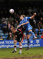 Photo: Tony Oudot/Richard Lane Photography. Gillingham v Shrewsbury Town. Coca-Cola Football League Two. 28/02/2009. <br />