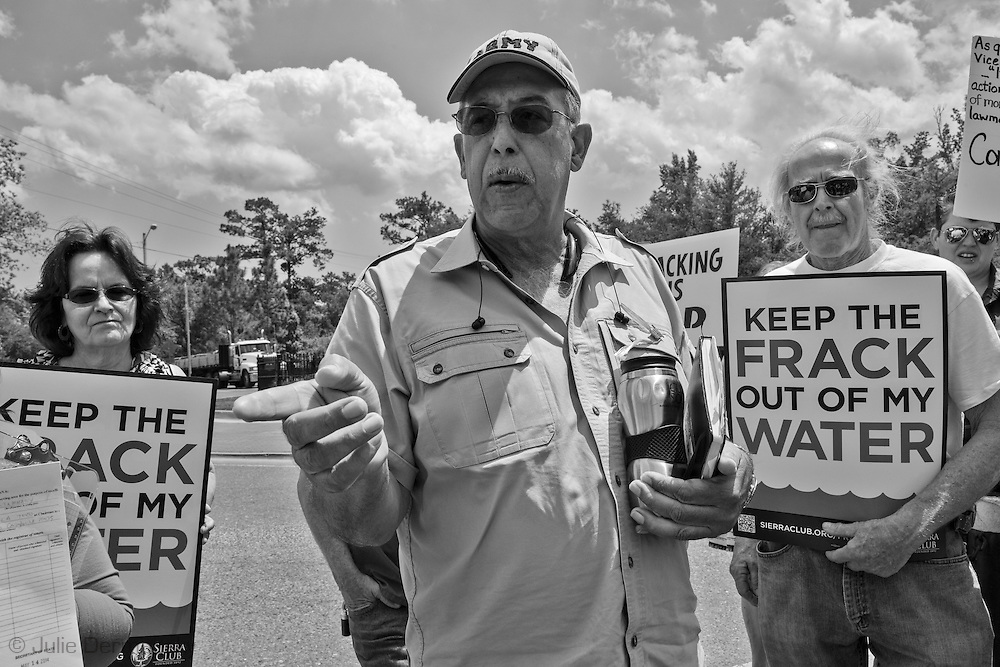 May 16, General Russel Honoré giving a speech at a press conference in Abita Springs about fracking and how to stop it from coming to St. Tammany Parish.