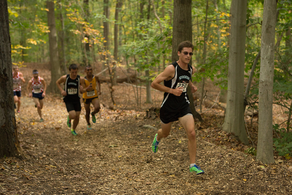 Stockton College Mitchell Berlin - Collegiate Track Conference  Cross-Country Men's Championship at Gloucester County College in Sewell, NJ on Saturday October 19, 2013. (photo / Mat Boyle)