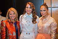 Queen Rania & Jennifer Lopez At Girls, Women Equality Event