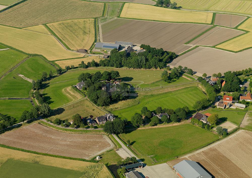 Dorpsgezicht Hoge beintum in de gemeente Ferweradeel.