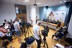 during PZS press conference after IFSC Climbing World Championships in Hachioji (JPN) 2019, on August 23, 2019 at Ministry of Education, Science and Sport, Ljubljana, Slovenia. Photo by Grega Valancic / Sportida