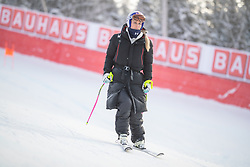 04.02.2019, Are, SWE, FIS Weltmeisterschaften Ski Alpin, Damen, Abfahrt, 1. Training, im Bild Lindsey Vonn (USA) // Lindsey Vonn of the USA during 1st Ladies Dwonhill Training of the FIS Ski Alpine World Championships 2019 in Are, Sweden on 2019/02/04. EXPA Pictures © 2019, PhotoCredit: EXPA/ Dominik Angerer