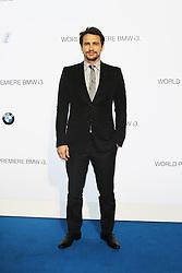 © Licensed to London News Pictures. James Franco  at the BMW i3 global reveal party, Old Billingsgate Market, London UK, 29 July 2013. Photo Credit:  Richard Goldschmidt/LNP