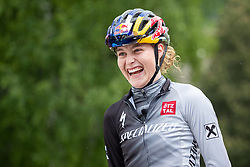11.06.2019, Kals am Grossglockner, AUT, Laura Stigger Bike Challenge, Pressekonferenz, im Bild Laura Stigger // Laura Stigger during a press conference for the Laura Stigger Bike Challenge in Kls am Grossglockner. Austria on 2019/06/11. EXPA Pictures © 2019, PhotoCredit: EXPA/ Johann Groder