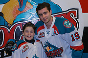 KELOWNA, CANADA - JANUARY 17:  Pepsi Player of the Game with Dillon Dube #19 of the Kelowna Rockets at the Kelowna Rockets game on January 17, 2018 at Prospera Place in Kelowna, British Columbia, Canada.  (Photo By Cindy Rogers/Nyasa Photography,  *** Local Caption ***