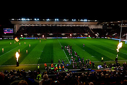 A general view of Ashton Gate  as Bristol Bears run out  - Mandatory by-line: Ryan Hiscott/JMP - 27/12/2019 - RUGBY - Ashton Gate - Bristol, England - Bristol Bears v Wasps - Gallagher Premiership Rugby