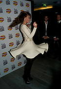 TARA PALMER-TOMPKINSON, Walkers' Do Us A Flavour - launch party , The 6 finalists of their campaign to find new crisp flavours announced. Flavours include' Chili and chocolate, fish and chips, Onion bhaji, crispy duck, cajun squirrel and builder's breakfast. . Paramount, Centre Point, London. 8 January 2009 *** Local Caption *** -DO NOT ARCHIVE -Copyright Photograph by Dafydd Jones. 248 Clapham Rd. London SW9 0PZ. Tel 0207 820 0771. www.dafjones.com<br /> TARA PALMER-TOMPKINSON, Walkers' Do Us A Flavour - launch party , The 6 finalists of their campaign to find new crisp flavours announced. Flavours include' Chili and chocolate, fish and chips, Onion bhaji, crispy duck, cajun squirrel and builder's breakfast. . Paramount, Centre Point, London. 8 January 2009