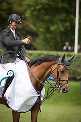 Delaveau Patrice (FRA) - Ornella Mail <br /> Winners of the Derby de la région des Pays de la Loire<br /> CSIO La Baule 2013<br /> © Dirk Caremans