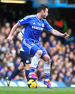 Frank Lampard of Chelsea during the Barclays Premier League match at Stamford Bridge, London<br /> Picture by David Horn/Focus Images Ltd +44 7545 970036<br /> 22/02/2014