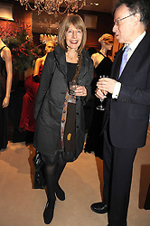 CAROL STONE at a party to celebrate the publication of Catherine Blyth's book 'The Art of Conversation' held at Ralp Lauren, Bond Street, London on 4th November 2008.
