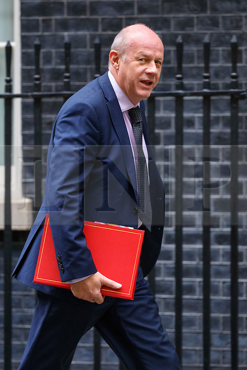 © Licensed to London News Pictures. 18/10/2016. London, UK. Work and Pensions Secretary DAMIAN GREEN attends a cabinet meeting in Downing Street on Tuesday, 18 October 2016. Photo credit: Tolga Akmen/LNP