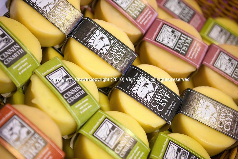 Caws Cenarth Cheeses<br /> Brecon Food Festival 2009<br /> Brecon<br /> South<br /> Food