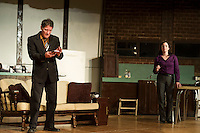 "Streetcar Company's dress rehearsal for ""Wait Until Dark"" .  Karen Bobotas/for the Laconia Daily Sun"