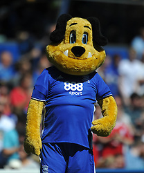 BIRMINGHAM CITY MASCOT, Birmingham City v Cardiff City Sky Bet Championship  6th August 2016 <br /> Photo: Mike Capps