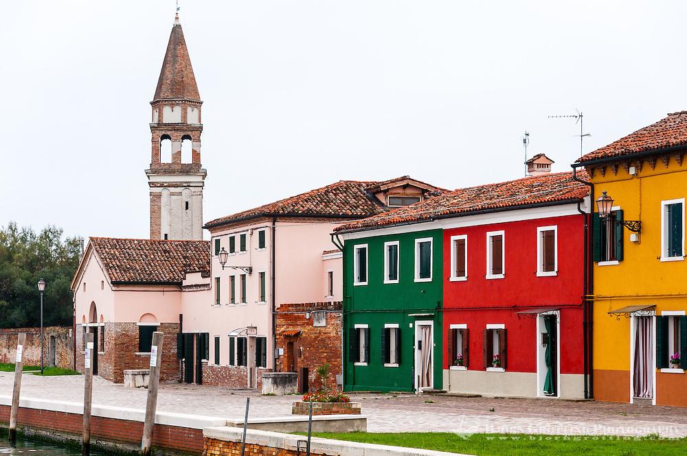 Italy, Mazzorbo Island.