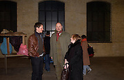 Hans Op de Beeck and Paul Hetch. , Rijksakademie exhibition, Victoria Miro Gallery, London. 11 January 2003. © Copyright Photograph by Dafydd Jones 66 Stockwell Park Rd. London SW9 0DA Tel 020 7733 0108 www.dafjones.com