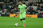 Manchester City defender Aleksander Kolarov during the Capital One Cup match between Sunderland and Manchester City at the Stadium Of Light, Sunderland, England on 22 September 2015. Photo by Simon Davies.