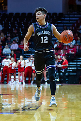 NORMAL, IL - October 23: Hunter Strait during a college basketball game between the ISU Redbirds and the Truman State Bulldogs on October 23 2019 at Redbird Arena in Normal, IL. (Photo by Alan Look)