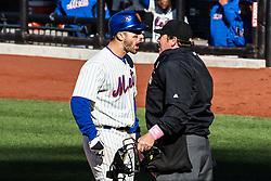 David Wright (Left) versus Umpire Paul Schrieber (right), 2010.