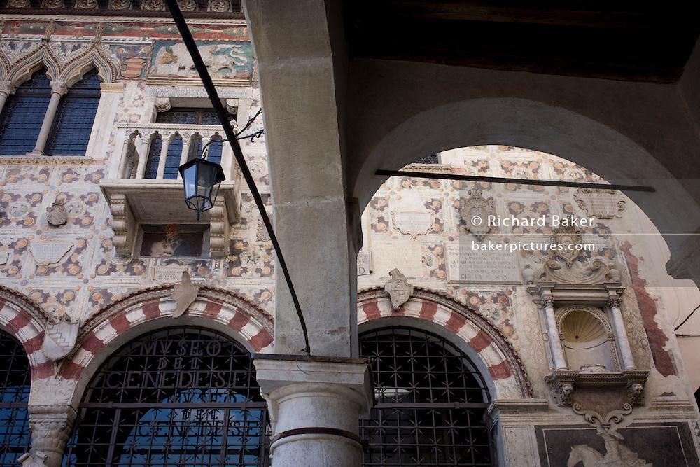 The Museum Cenedese in Vittorio Veneto, Province of Treviso, Veneto, Italy.