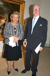 DAME VIVIEN DUFFIELD the multi millionaire art benefactor and SIR JOCELYN STEVENS at a fundraising evening for the Conservative Party General Election Campaign Fund held at Bonhams, 101 New Bond Street, London W1 on 17th March 2005.<br /><br />NON EXCLUSIVE - WORLD RIGHTS