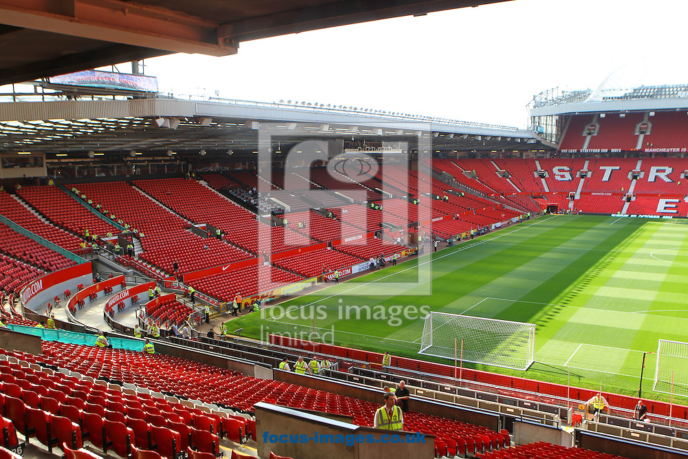 Picture by Paul Chesterton/Focus Images Ltd.  07904 640267.1/10/11.General views of Old Trafford before the Barclays Premier League match at Old Trafford Stadium, Manchester.