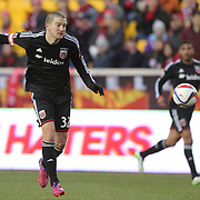 Bobby Boswell, D.C. United, in action during the New York Red Bulls Vs D.C. United Major League Soccer regular season match at Red Bull Arena, Harrison, New Jersey. USA. 22nd March 2015. Photo Tim Clayton