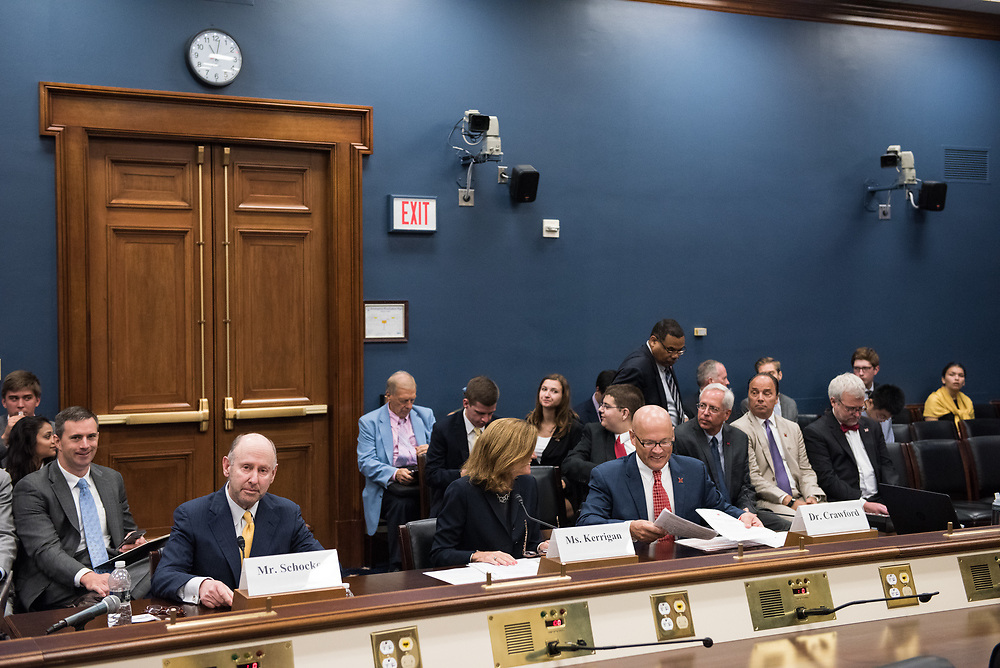 """Mr. Joe Schocken, CEO Broadmark Capital, testifies in a hearing before The Committee on Small Business regarding, """"Reversing the Entrepreneurship Decline"""" in on Capitol Hill in Washington D.C., July 19, 2017. Schocken and other witnesses provide the Committee with an opportunity to understand the entrepreneurship trends, challenges, and opportunities that exist in the United States, and will also examine how entrepreneurship influences leading economic indicators and potential solutions to promote new and existing small businesses"""