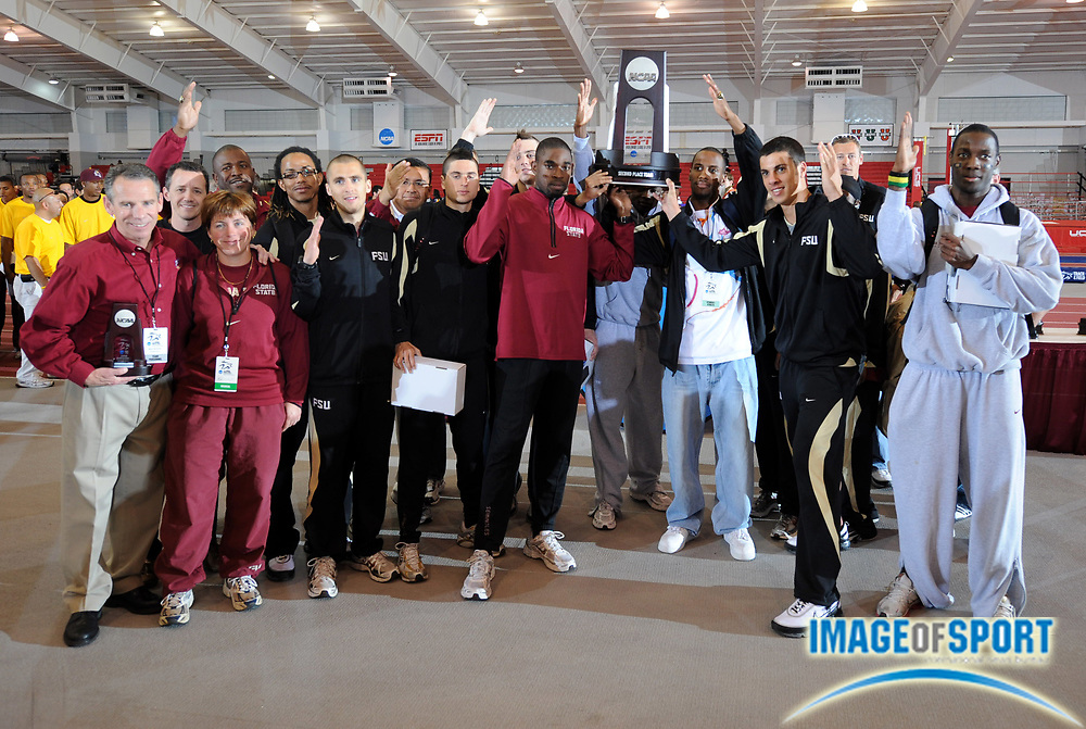 Mar 15, 2008; Fayetteville, AR, USA; in the NCAA indoor track and field championships at the Randal Tyson Center.