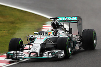 Lewis Hamilton (GBR) Mercedes AMG F1 W05.<br /> Japanese Grand Prix, Sunday 5th October 2014. Suzuka, Japan.