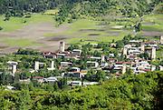 Georgia, Svaneti Region, Rural village