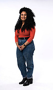 Natasha Oladokun poses for a portrait at the Capital Times studio in Madison, WI on Friday, April 12, 2019.