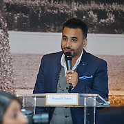 London,England,UK, 17th Aug 2016 : Presenter Ameet Chana for the Press Conference with international superstar, actor Anil Kapoor in the Season 2 of the hit TV series, '24', on Colors at The Montcalm Hotel, London,UK. Photo by See Li