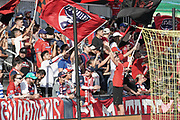 FC Dallas' oldest support group El Matador cheer during a MLS soccer game against NYCFC, Sunday, Sept. 22, 2019, in Frisco, Tex. FC Dallas and New York FC draw 1-1 (Wayne Gooden/Image of Sport)