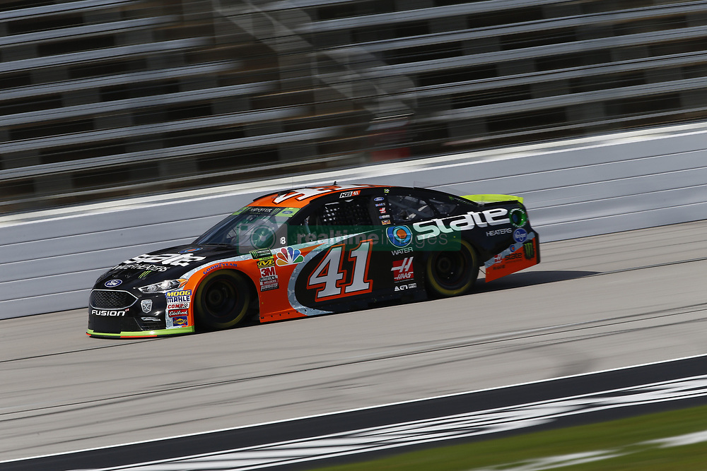 November 2, 2018 - Ft. Worth, Texas, United States of America - Kurt Busch (41) takes to the track to practice for the AAA Texas 500 at Texas Motor Speedway in Ft. Worth, Texas. (Credit Image: © Justin R. Noe Asp Inc/ASP via ZUMA Wire)