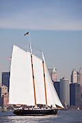 America 2.0 sailing in the New York Classic Week regatta.