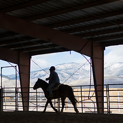 022318 - Northern Nevada Correction Center wild horse training facility for The Nevada Independent