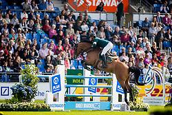 Guerdat Steve, SUI, Albfuehren's Maddox<br /> CHIO Aachen 2019<br /> Weltfest des Pferdesports<br /> <br /> © Hippo Foto - Dirk Caremans<br /> Guerdat Steve, SUI, Albfuehren's Maddox