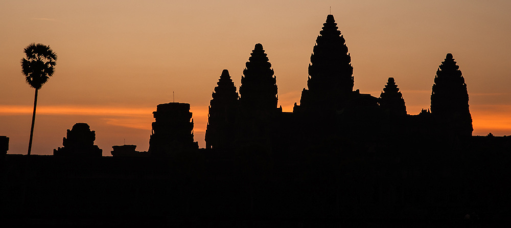 Angkor Wat temple at dawn (Cambodia)