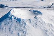 Image from Northeast-Icelandn Herdubreid in wintertime.