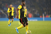 Isaac Success (22) of Watford during the Premier League match between Leicester City and Watford at the King Power Stadium, Leicester, England on 4 December 2019.