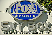 Los Angeles CA, LA LIVE, Fox Sports sign