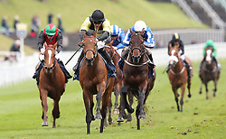 Future Investment (left) ridden by Harry Bentley wins The Sportpesa Maiden Stakes, during Boodles City Day at Chester Racecourse, Chester.