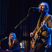 "WASHINGTON, DC - March 7, 2015 - Hozier (right) performs at the Lincoln Theater in Washington, D.C. His hit song ""Take Me To Church"" was nominated for Song of the Year at the 2015 Grammys. (Photo by Kyle Gustafson / For The Washington Post)"