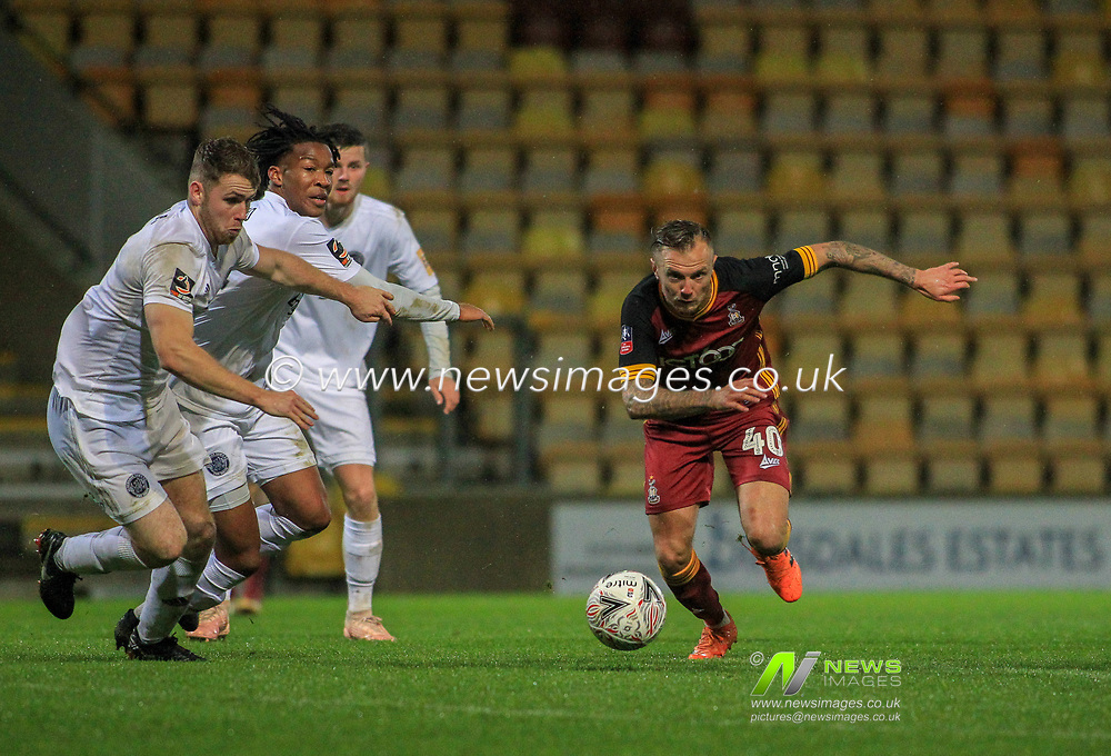 The Emirates Fa Cup Round 1 Bradford City V Aldershot Town News Images