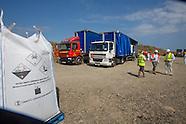 waste shipments at La Colette