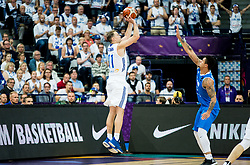Petteri Koponen of Finland during basketball match between National Teams of Finland and Iceland at Day 7 of the FIBA EuroBasket 2017 at Hartwall Arena in Helsinki, Finland on September 6, 2017. Photo by Vid Ponikvar / Sportida
